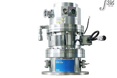 3675 Shimadzu Turbo Pump W Ulvac Cryogenics Super Trap Cryo-t8pm W Tmp-1003lm