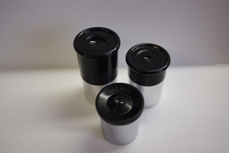 "Telescope .965"" Size Three (3) Eyepiece Kit 6mm 12.5mm 20mm  - Great Value!"