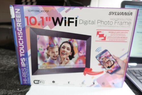 "Sylvania 10.1"" WIFI Digital Photo Frame -----*H34*"