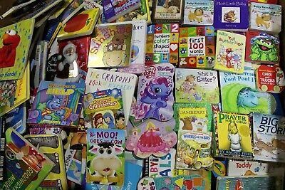 Lot of 20 - Board Books for Children's/ Kids/ Toddler Babies/ Preschool/Daycare