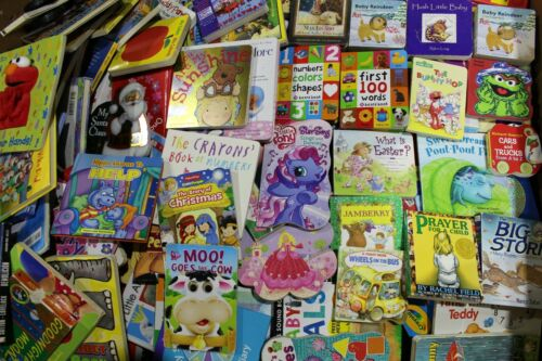 Lot of 10 - Board Books for Children