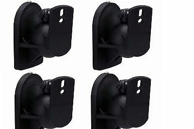 2 pair Universal Bose Jewel Cube Speaker Wall Mount - Stand - Bracket 4 Mounts