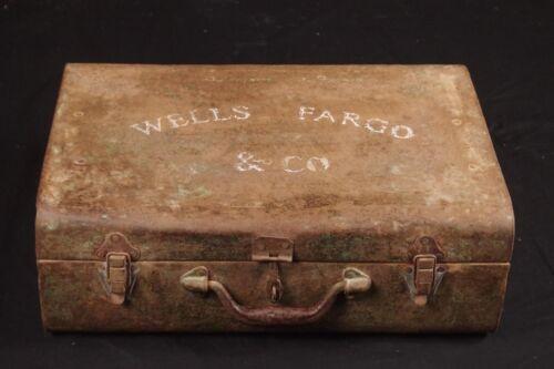 Original Wells Fargo Cash Carrying case - 1860-1890