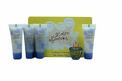 LOLITA LEMPICKA THE COLOURS BOX 5PC SET WITH EAU DE PARFUM MINIATURE 5ML (PROMO)