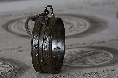 SONNENUHR, BAUERNRING 18. Jahrhundert, SUNDIAL RING