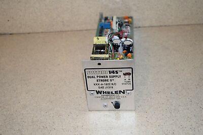 Whelen System 145 Dual Power Supply Strobe Ii Kkk-a-1822 Bc- New
