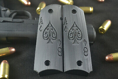 1911 Full Size Grips Colt Clones Inlaid Mother of Pearl Dragon 2