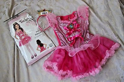 5 Girl Halloween Costumes (NWT Girls S 4 5 6 Enchanted Costumes PRETTY PRINCESS Dressup Halloween)