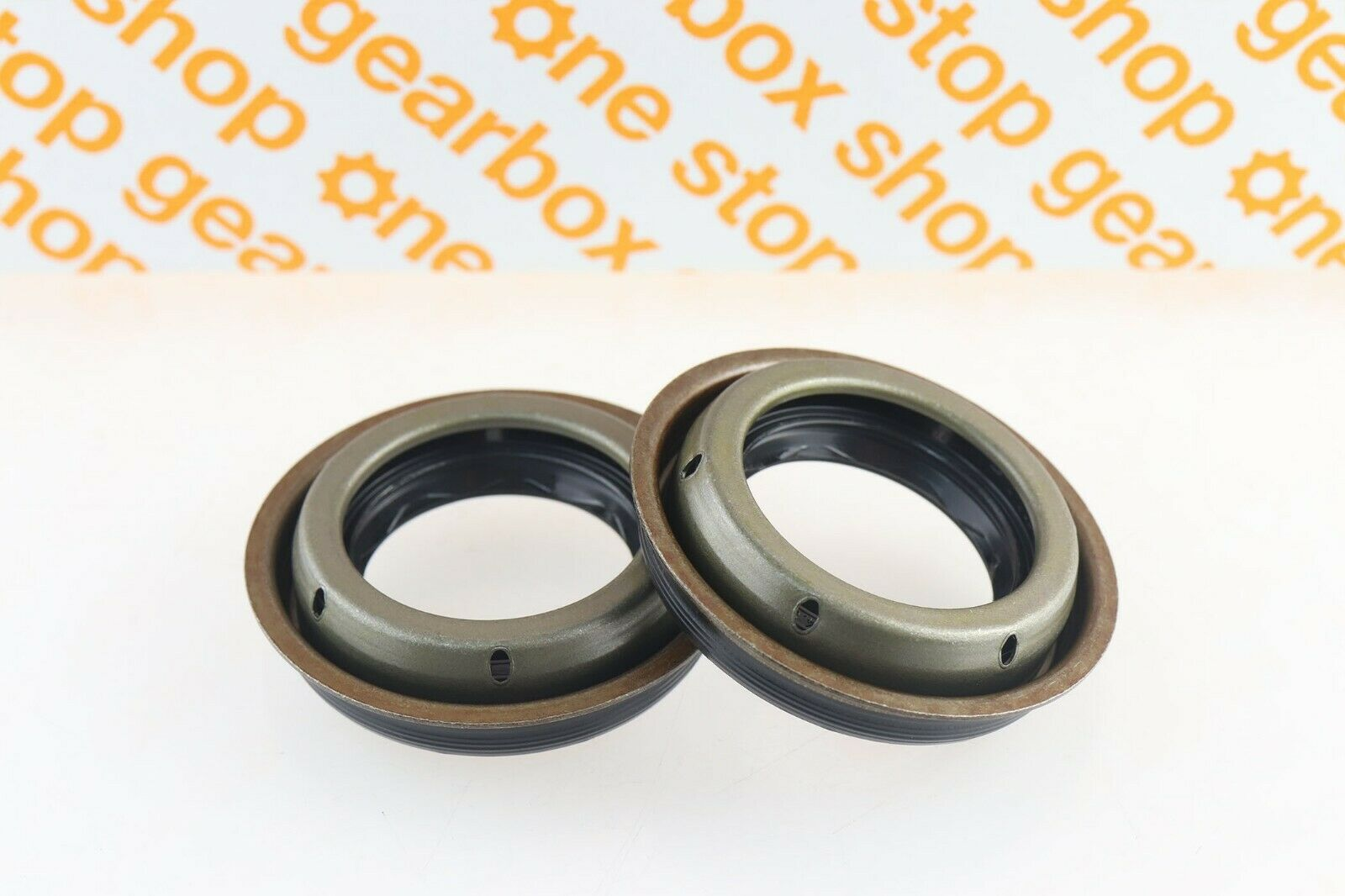 Details about M32 / M20 GEARBOX DIFFERENTIAL OIL SEAL PAIR BROWN SEAL  GENUINE EO