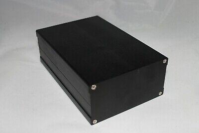 Black Aluminum Project Box Enclosure Case Electronic Diy 163x106x56mm Us Stock