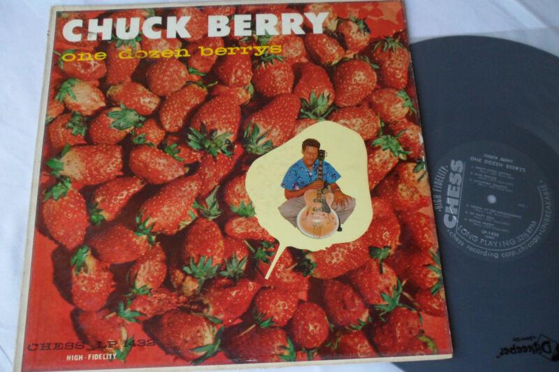 CHUCK BERRY__1958__Original__***1st Press***__One Dozen Berrys LP__CHESS 1432