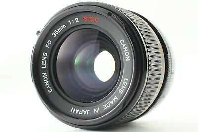 【Excellent+++】Canon FD 35mm F2 S.S.C. SSC MF Wide Angle Lens from JAPAN #N032