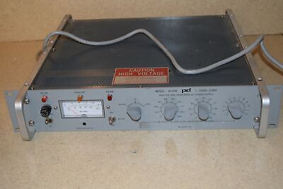 Power Designs Model 2k20a High Voltage Regulated Dc Power Supply 1t