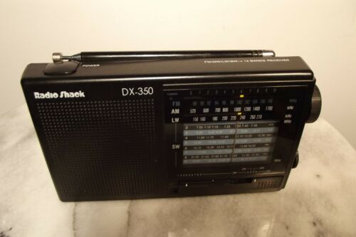 Radio Shack DX-350 Shortwave Radio in Great Condition!