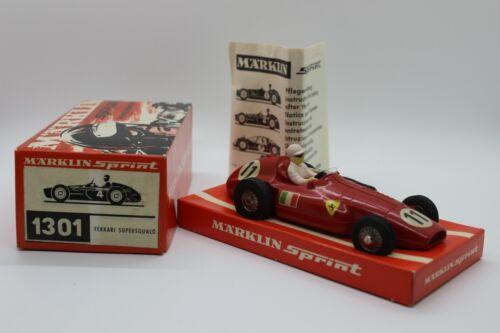 Marklin Sprint 1301 Ferrari Supersqualo New Old Stock