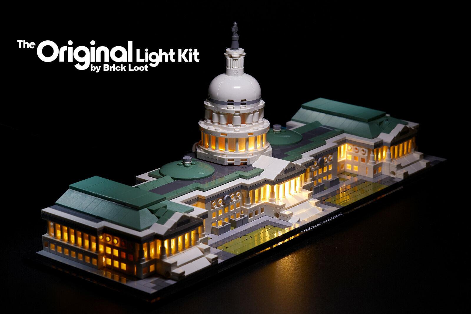 Led Lighting Kit Fits Lego Architecture United States Capitol Building 21030 Ebay