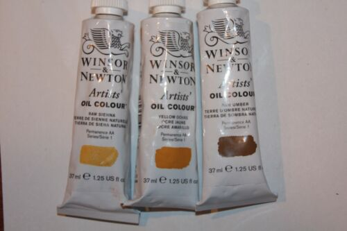 3 Winsor & Newton Oil Paint