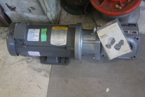 Baldor General Purpose Electric Motor CD3475 w/ Sumitomo RNYXS-1320Y-W1-20