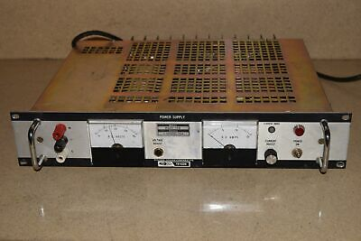 Trygon Systron Donner Model Rs40-15b 0-40vdc15a Dc Power Supply