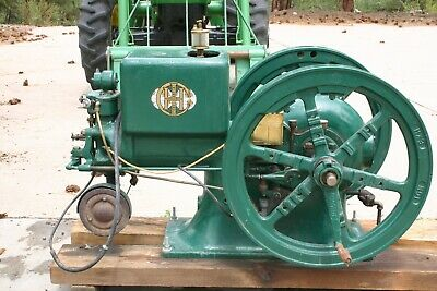 International Harvester 5 Hp Hit Or Miss Engine