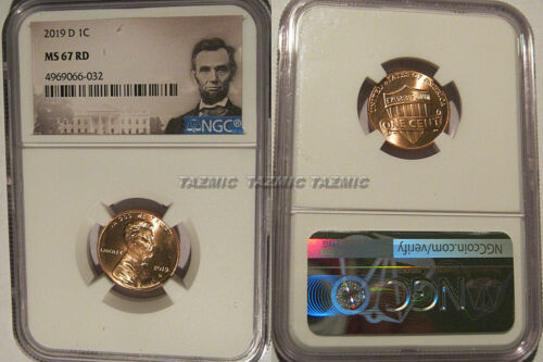 2019 D Lincoln SHIELD Cent 1c NGC MS 67 RD Lincoln Label