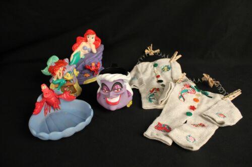 Vintage Disney The Little Mermaid Ursula Sea Witch Coffee Mug Home Decor Lot