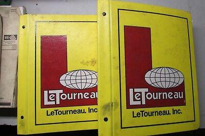 Letourneau 4594-2030 Log Stacker Operating Service Manual Repair Overhaul