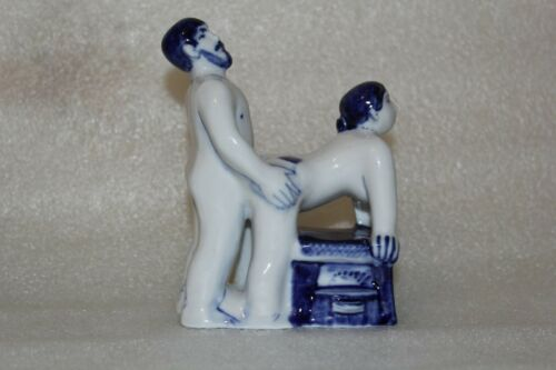 Limited+edition%21Russian+erotic+figurine+-+PORCELAIN+Gzhel+factory%2CKama+Sutra+%238