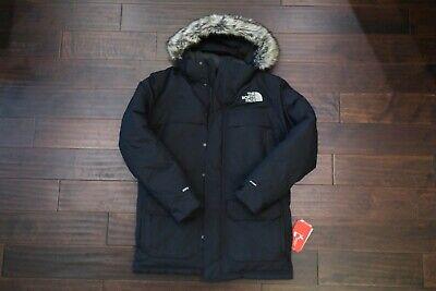 Mens The North Face McMurdo III Parka Black Jacket Medium Med M