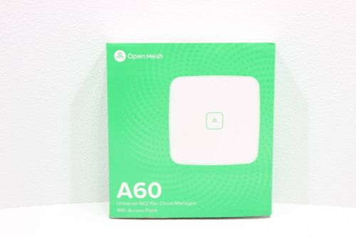 Open Mesh A60 867Mbps 2 Ports Dual-band 802.11ac WiFi Access Point (OMA60) New