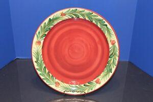 Gail Pittman Signed Christmas Memories Platter 13.5