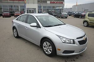 2012 Chevrolet Cruze LT Turbo Low Km's, A/C, Turbo!