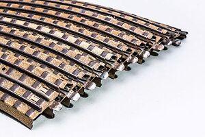 Märklin Vorkrieg HO/00 - 10 gebogene Gleise - mit Mittelleiter