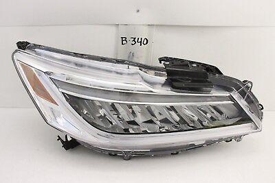 Honda Accord Rh Headlamp Light - OEM HEAD LIGHT HEADLIGHT HEADLAMP LAMP HONDA ACCORD LED PROJECTION 16 17 RH NICE
