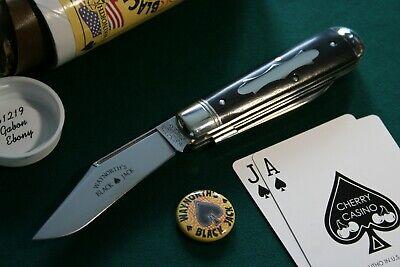 Great Eastern Cutlery #86 GEC - Charlie Campagna Waynorth Black Jack Gabon Ebony