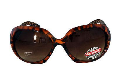 Foster Grant Woodsy FG74 Damen Abgerundete Quadrat Kunststoff-Sonnenbrille Katze