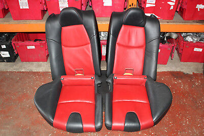 MAZDA RX8 1.3 PETROL 2003-2008 REAR LEATHER SEATS