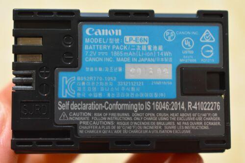 LP-E6N LPE6N Battery for Canon EOS 5D Mark II III 70D 60D 60Da 5D 6D 7D LC-E6E
