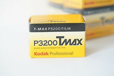 Kodak TMAX P3200 Black and White 35mm Film - 36exp Expired 01/2020