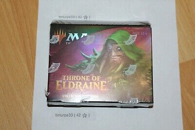 factory sealed Throne of Eldraine Collectors Booster Box - 12 Packs - MTG