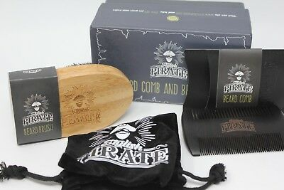 - Stylish Pirate Beard Comb and Brush Set for  Men New SEALED