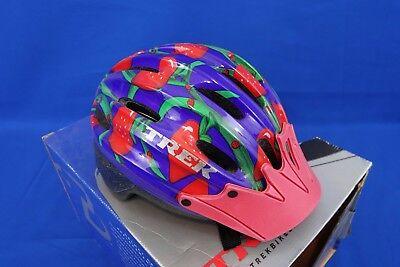 New Trek Lil Dipper Toddler Bike Helmet - Child Small: 47-50cm Strawberry