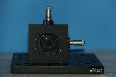 Thorlabs St1xy-s - Xy Translator With Micrometers 30mm Cage Compatible 1optics
