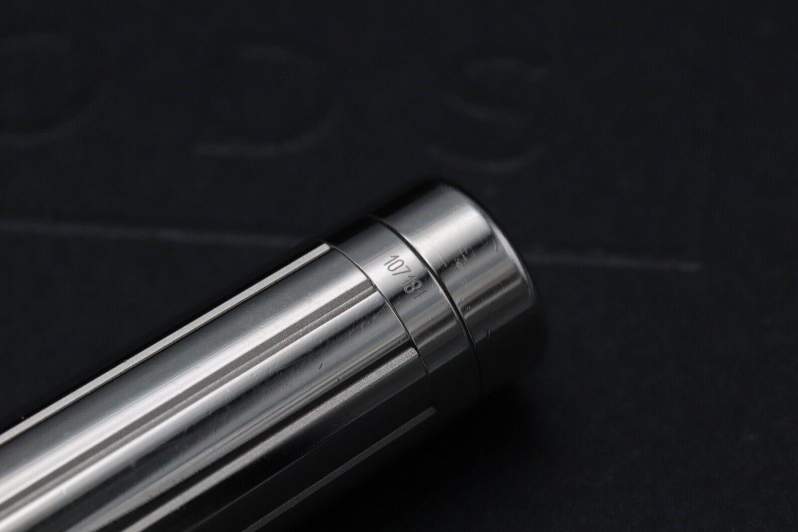 Cartier Pasha de Cartier Striped Silver-Plated Fountain Pen 7