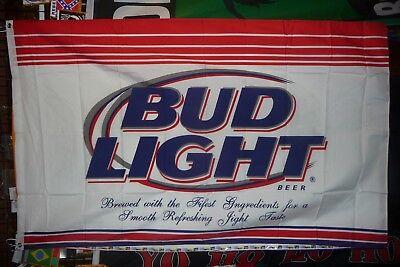 Bud Light Beer Flag 3' X 5' Premium Party Decoration Banner USA Seller