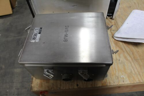 Hoffman Stainless 12x10x6 Enclosure Junction Box A12106chnfss