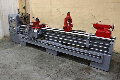 22 X 120 Profitmaster Gap Bed Engine Lathe Yoder 62964