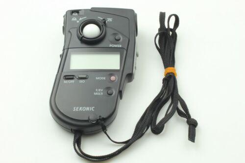 【Near Mint】 Sekonic L-408 Multi master Light Meter From JAPAN   #00127