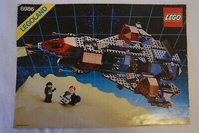 Vintage Lego Space Police Mission Commander 6986 100% complete w/instructions