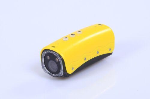 Mini HD 1080P White LED Flashlight Sprots Action Helmet Camera Video Recorder